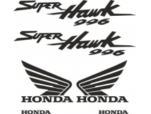 Honda Super Hawk 996 арт.2113