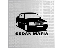 Mercedes Sedan Mafia (14cm) арт.0857